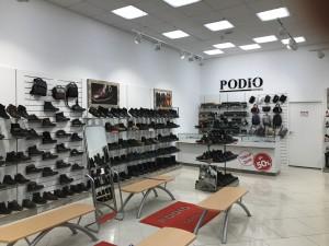 Торговое оборудование для магазина обуви