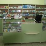 Прикассовая зона для Аптеки