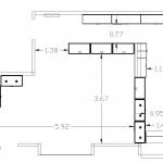 Схематический проект магазина вид сверху