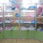 Витрина для магазина детской одежды