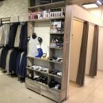 Торговое оборудование для магазина мужской одежды