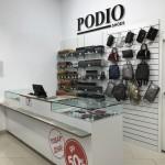 Прикассовая зона для магазина обуви