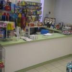 Прикассовая зона магазина игрушек