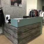 Ресепшн для магазина одежды