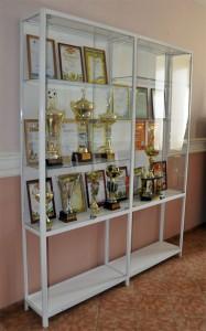 Стеклянные витрины для кубков и наград